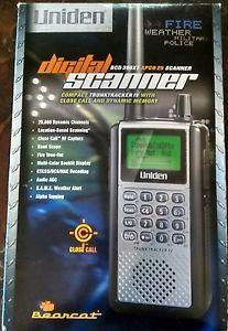 Uniden Bearcat Scanner - BCD 386XT